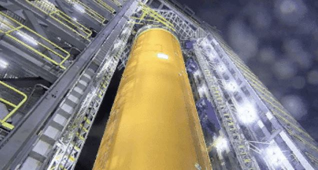 NASA Tests Space Launch System Fuel Tank by Tearing It Apart
